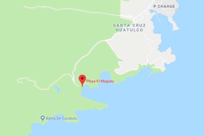 Donde se ubica la BahíaMaguey y la bahía el Órgano