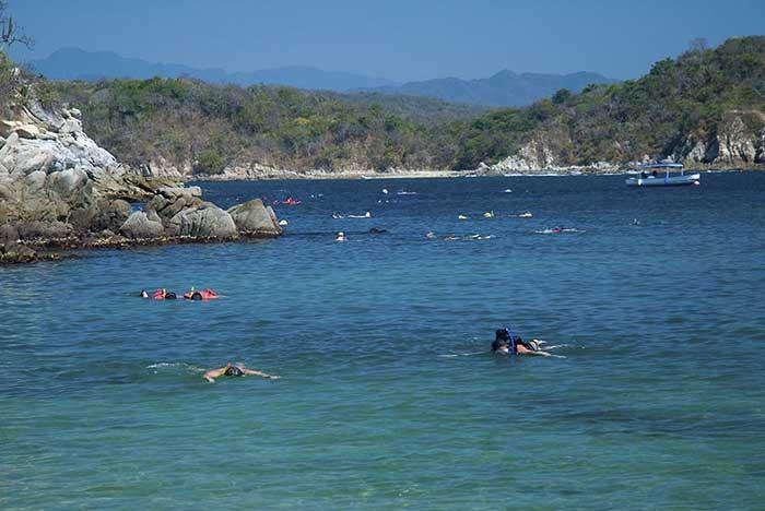 Que hacer en la Bahía de Chahué Huatulco