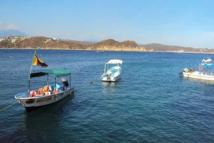 cómo llegar a la bahía de chachacual huatulco