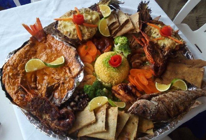 gastronomía de bahía maguey