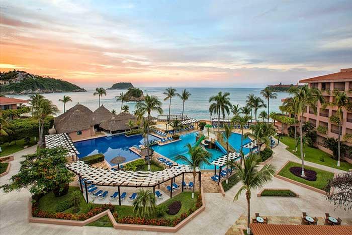 hotel cerca de la bahía de tangolunda huatulco oaxaca