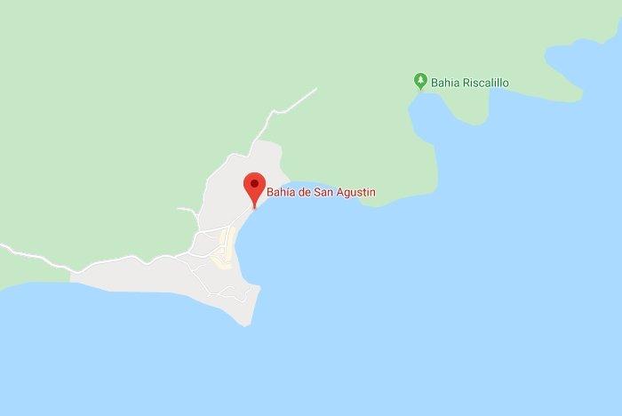 Bahía san agustín ubicación