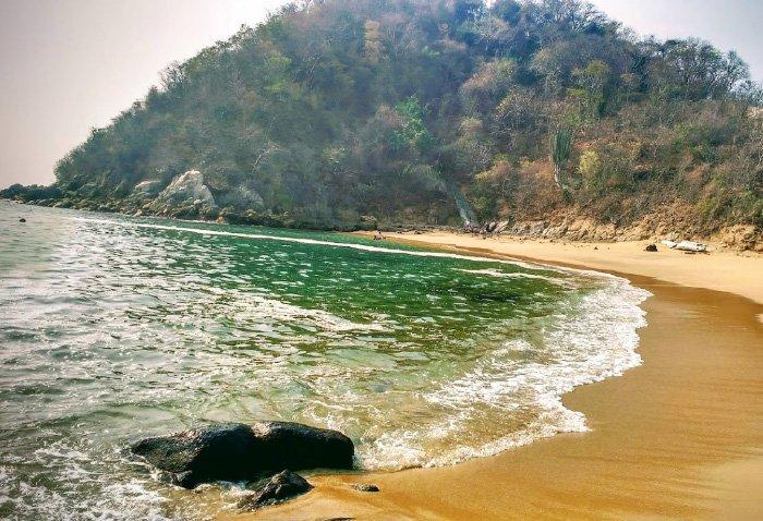 características de la playa tejoncito