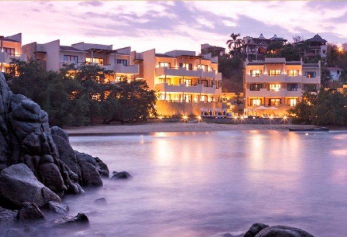 hoteles en playa tejoncito huatulco