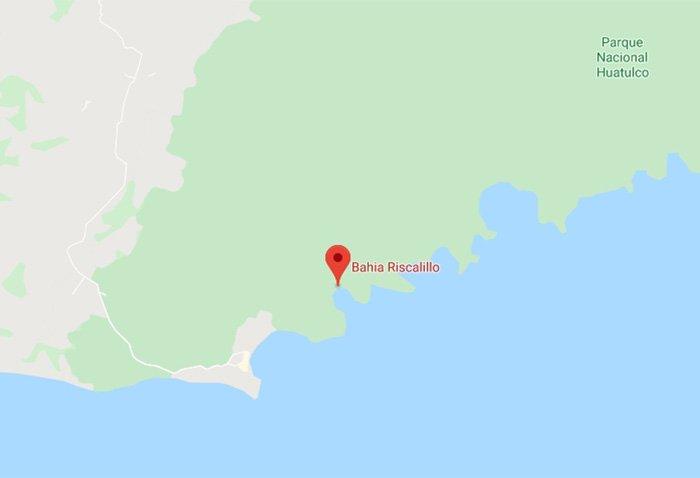 bahía ricalillo ubicación
