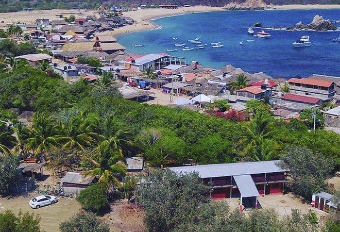 Hotel económico en bahía San Agustín