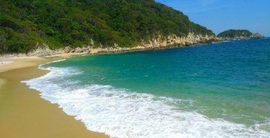 playa tejón huatulco
