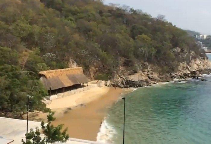 caracteristicas de la playa yerbabuena