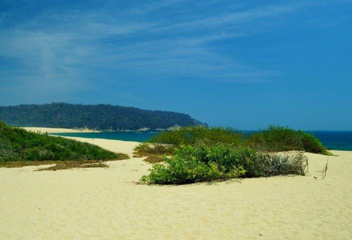 Características de la playa arroyo