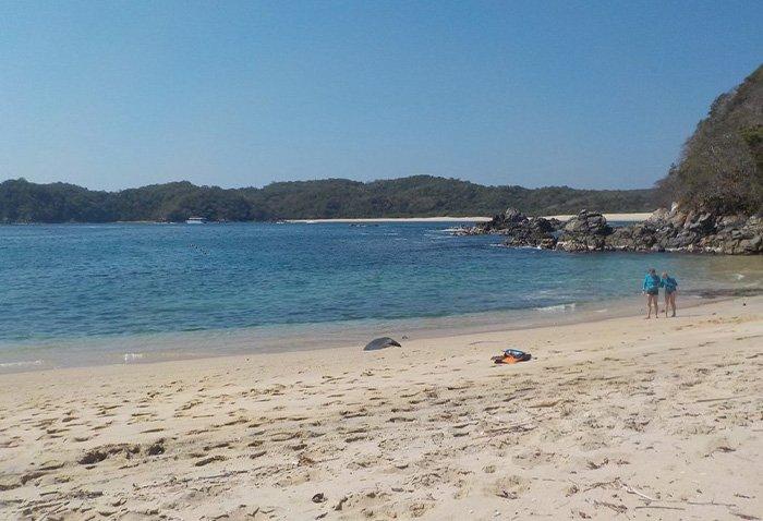 Características de la playa chachacual