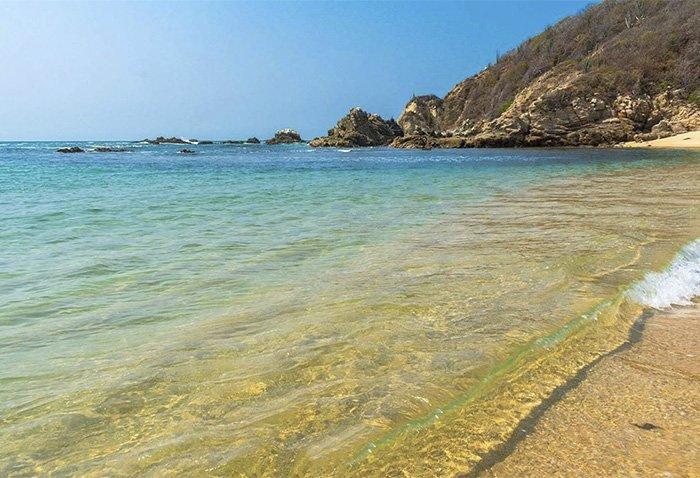 Características de la playa magueycito