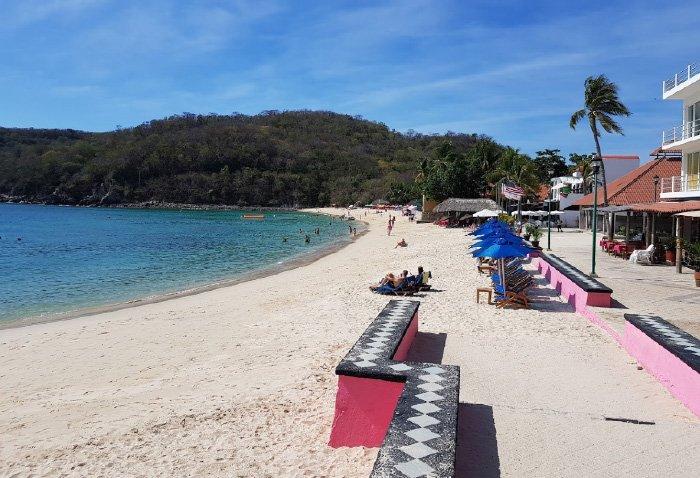 Características de la playa santa cruz