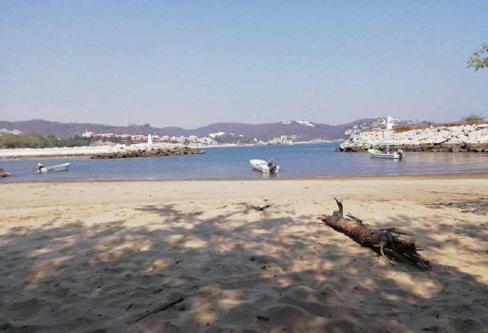 playa tangolunda como llegar