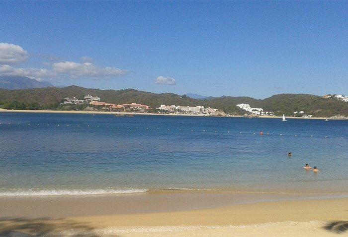playa ventura huatulco como llegar