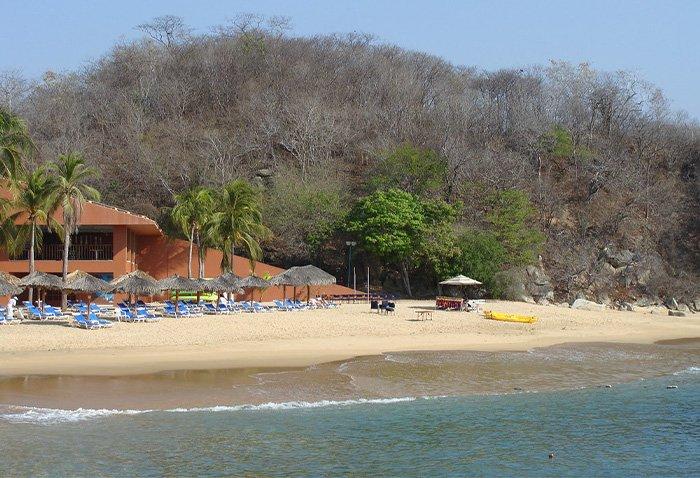 Donde se ubica la Playa Tornillo