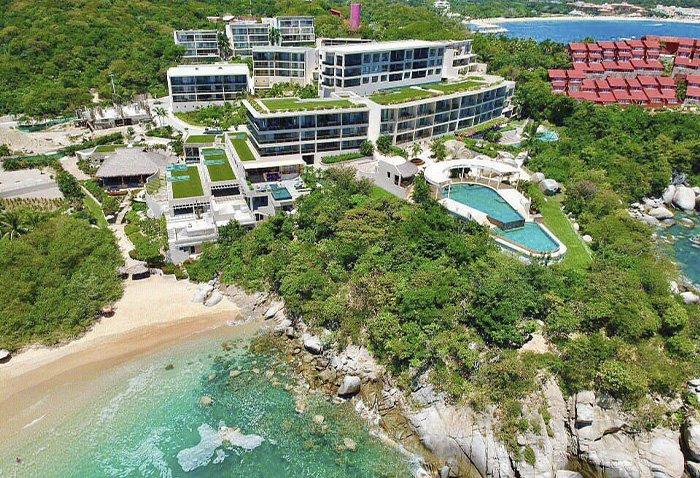 Hoteles en Playa el Arrocito Huatulco
