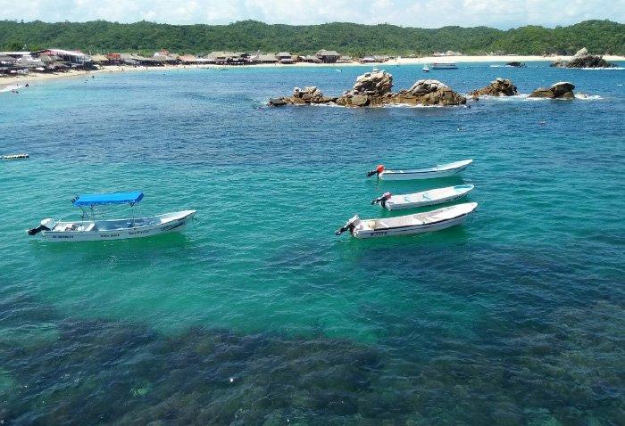 Playa san agustin huatulco como llegar