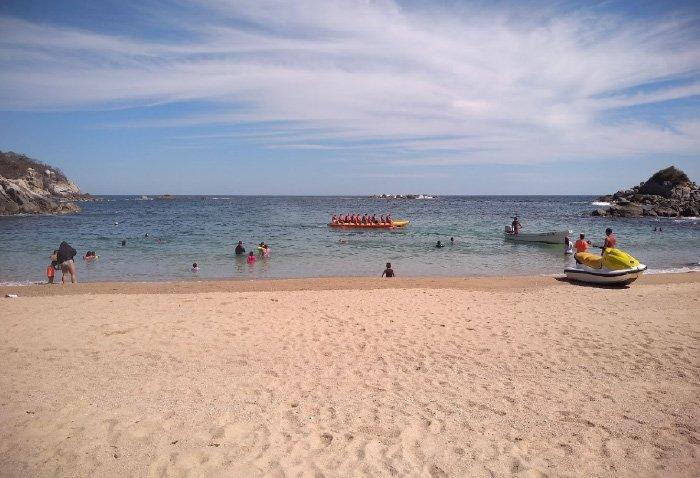 Que hacer en Playa Arrocito en Huatulco