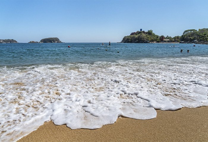 playa tornillo huatulco como llegar