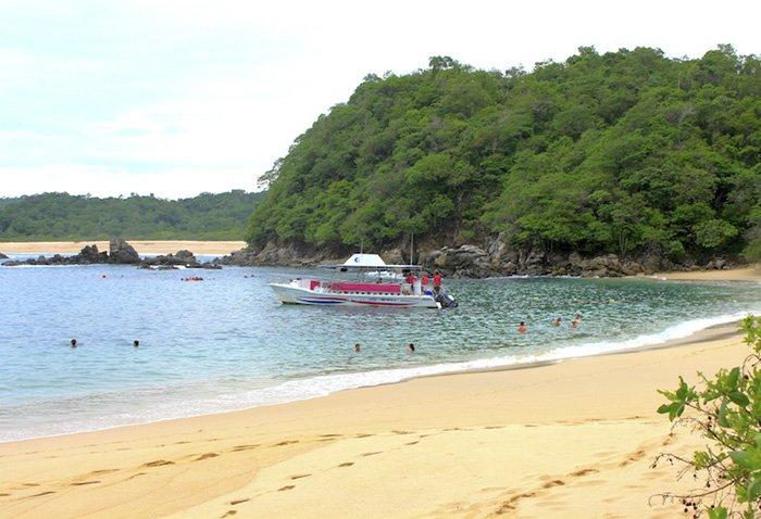 playa el paraiso huatulco como llegar
