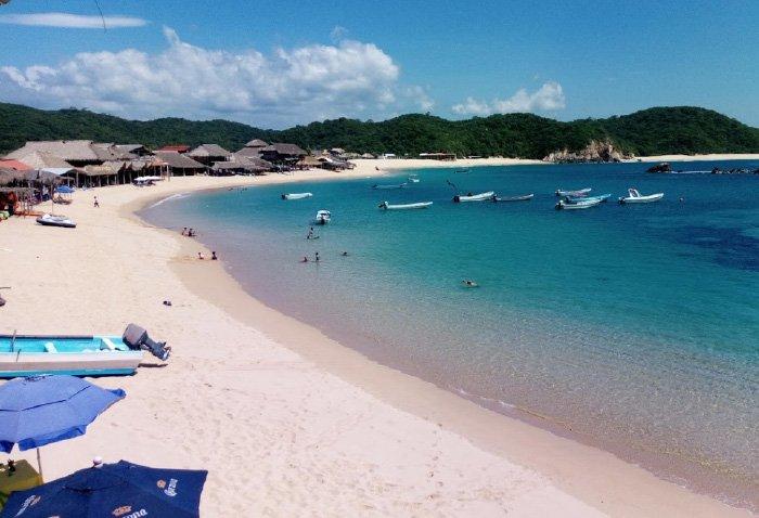 playa san agustin huatulco que hacer