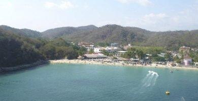 playa santa cruz huatulco