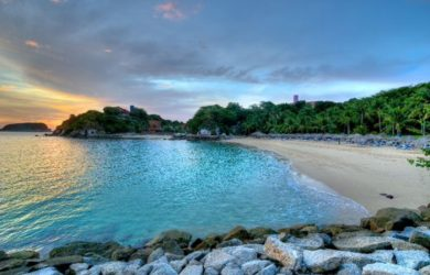 playa ventura huatulco