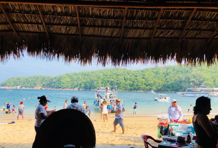 servicios en la playa el maguey