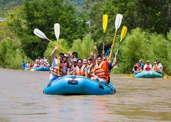 Rafting rio copalita
